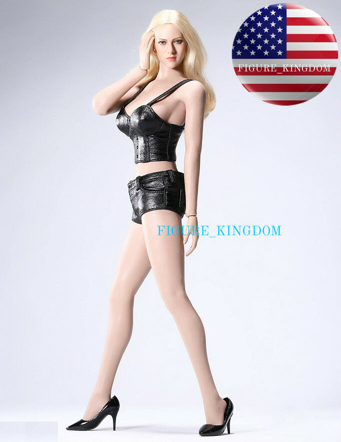 PHICEN TBLeague Seamless American Blonde Hair L Bust Figure Doll Set KT004 USA