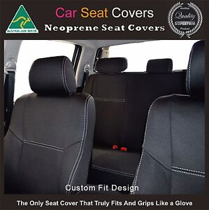 100/% Waterproof Premium Neoprene Seat Cover fits Toyota Corolla Front FB+MP