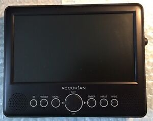 """Accurian 7"""" LCD Handheld Television"""