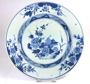 Gut Ausgebildete Alter Teller Keramik China Um 1780-1800 Al557 Angemessener Preis