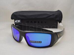 dc1300e555 Details about Oakley GASCAN (OO9014-50 60) Matte Black with Prizm Sapphire  Polarized Lens