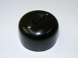 Alter Bakelit Schalter Aufputz Lichtschalter AP Kippschalter, Loft Design