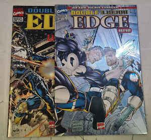 DOUBLE EDGE ALPHA e OMEGA (2 albi) - Marvel Italia