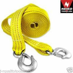 2-034-20ft-Heavy-Duty-Tow-Strap-with-Safety-Hooks-10-000lb