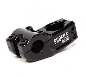"PROFILE RACING MULVILLE PUSH TOP LOAD BLACK 1-1//8/"" BMX BICYCLE STEM"