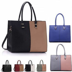 f3453c1b9bc9 LeahWard Large Women s Tote Bags Shoulder Handbags Work School Bag ...