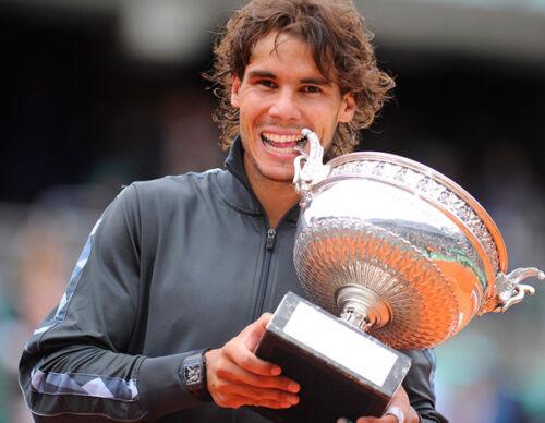 Spanish tennis superstar Rafael Nadal UNSIGNED photo NEW IMAGE!!!! K6131
