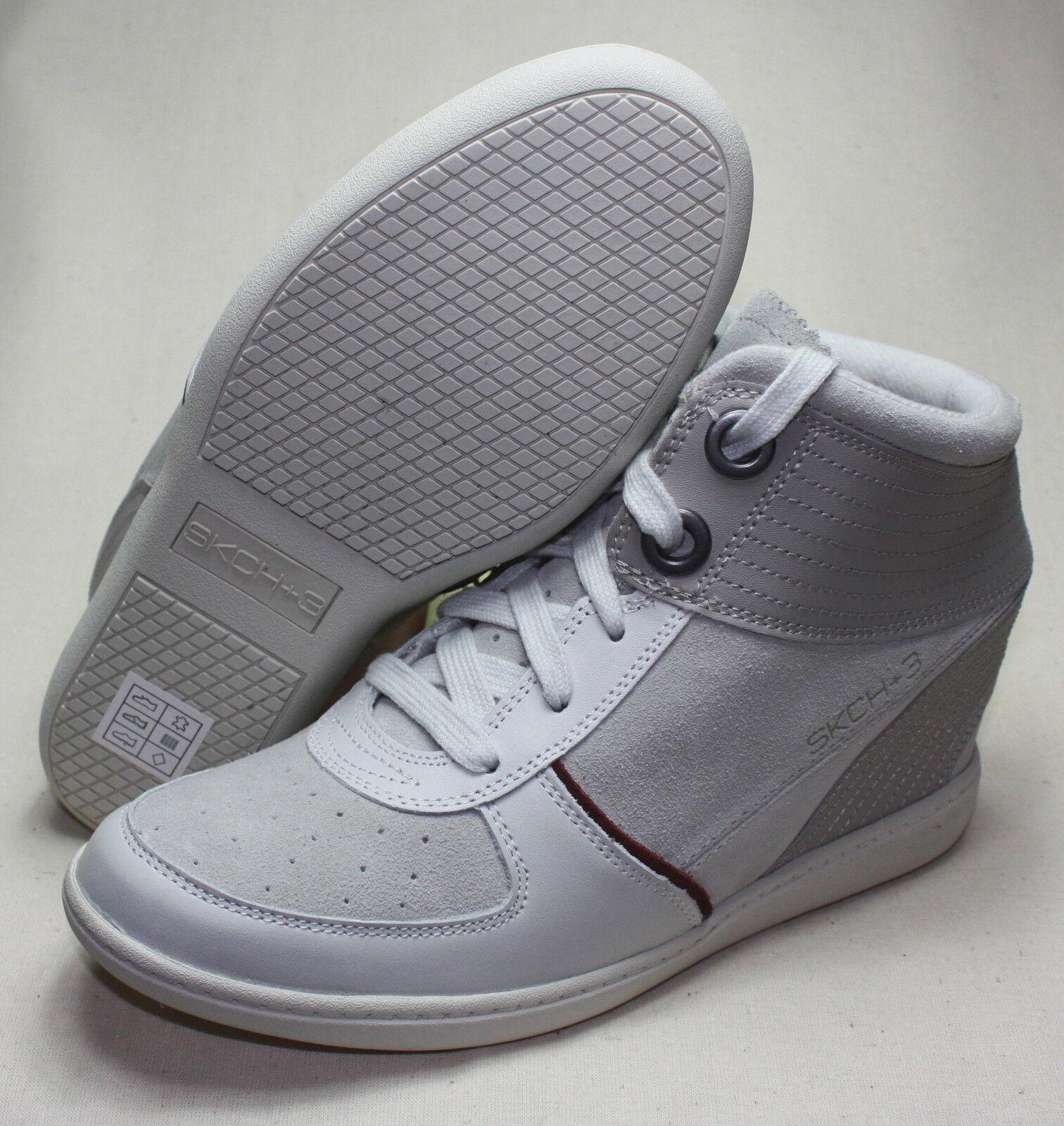 SKECHERS SKCH+3  Keil-Sneaker WLGY weiß komb. Gr.39