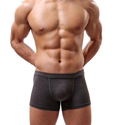 New Fashion Sexy Underwear Men's Boxer Briefs Shorts Bulge Pouch Soft Underpants