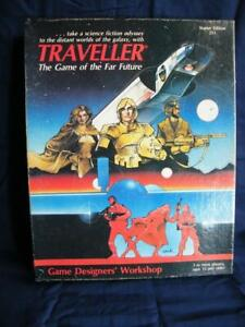 Traveller Starter Edition - GDW 1983 - SciFi RPG Boxed Set