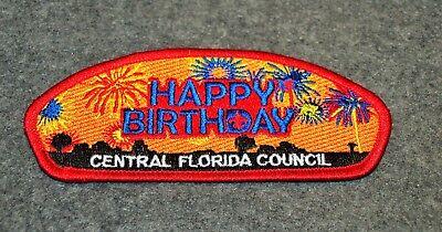 BSA CSP...CENTRAL FLORIDA COUNCIL 83...S-8A ISSUE