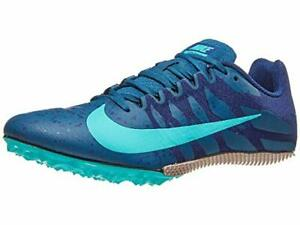 abrazo zona sugerir  Nike Zoom Rival S 9 Men's Track Sprint Spikes Style 907564-402 MSRP $65 |  eBay