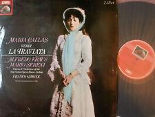 RLS 757 Verdi La Traviata / Callas etc. 2 LP set