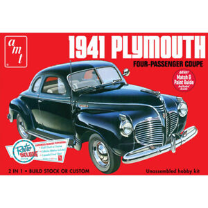 Amt-Modele-Kit-1-25-Echelle-1941-Plymouth-Coupe