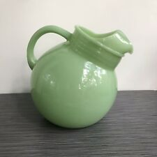 Fire King Jadite / Jadeite / Jade-ite Plain Ball Jug Pitcher *CHIPS TO SPOUT*