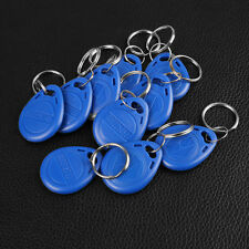 10PCS RFID Proximity Rewritable ID Door Access Key Token Tag Fob 125KHz/13.56MHz
