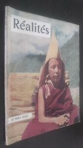Revista Realidades El Tíbet Secret N º 68 Septiembre 1951 Buen Estado
