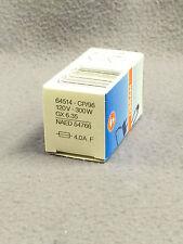Osram 64514 CP96 120V 300W G6.35 Bombilla Lámpara de Cápsula de efectos NUEVO DISCO Soundlab