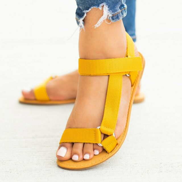 Link Girls Open Toe Ankle Strap Gladiator Flat Toddler
