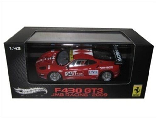 FERRARI F430 F430 F430 GT3 JMB RACING 1 43 ELITE EDITION MODEL CAR BY HOTWHEELS W1193 32d856