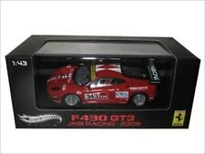 FERRARI F430 GT3 #34 JMB RACING 1/43 ELITE EDITION MODEL CAR BY HOTWHEELS W1193