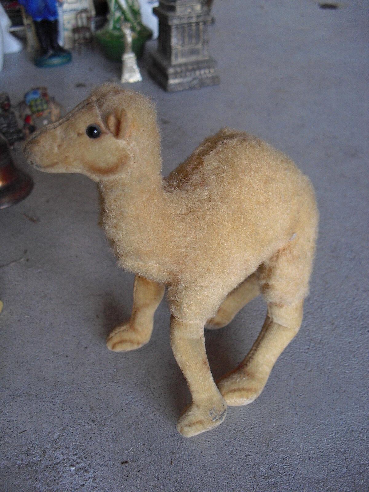 Vintage 1950s Steiff Mohair Camel Stuffed Animal 6