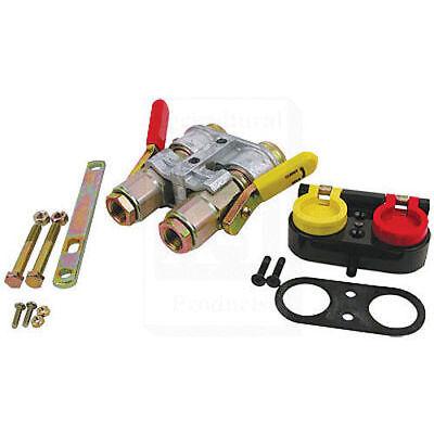 Double Breakaway Hydraulic Coupler Kit A-85004