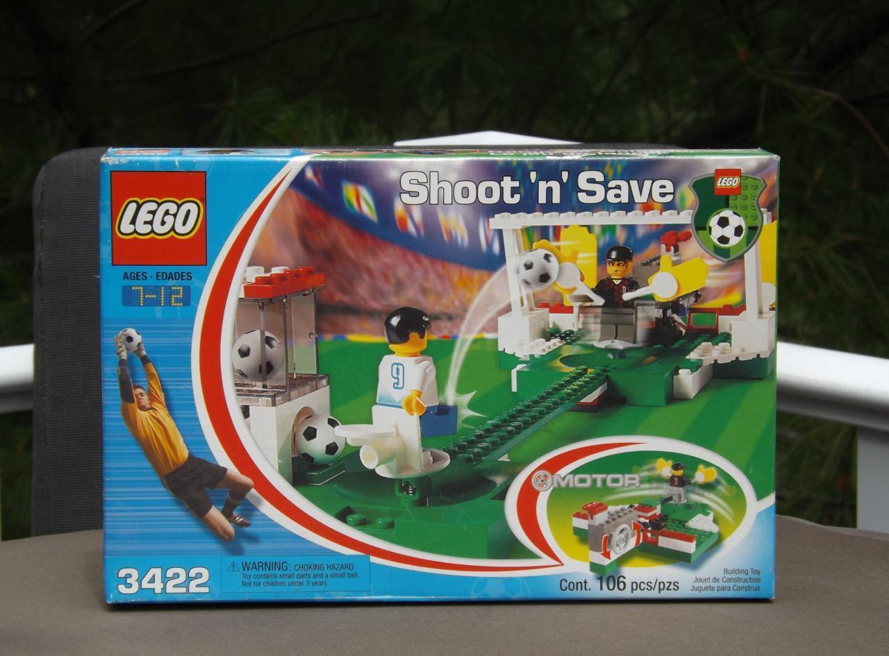 NIB Lego Sports 3422 Soccer Shoot N Save