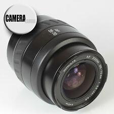 MINOLTA AF 35-70mm 3.5-4.5 Sony A Mount Camera Lens inc Caps & Instructions