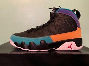 d8e2bddc4a92 Nike Air Jordan Retro 9 Dream It Do It Nostalgia Multicolor Sz 4Y-13 ...