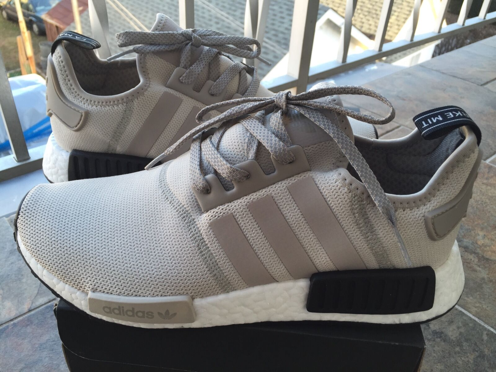 Adidas NMD_R1 Runner Nomad Boost  S76848 Tan Off White Cream sz 8-13