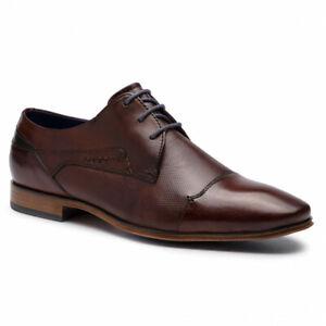 Details zu Bugatti 311 42010 3500 Herren Schuhe Business Schuhe 6000 braun Gr. 42