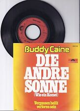 """Buddy Caine, Die andere Sonne, VG+/VG+ 7"""" Single 0957-7"""