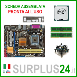 ASUS-P5KPL-AM-EPU-Core-2-Quad-Q8300-4-GB-RAM-Kit-Tarjeta-Madre-775-I-O-1411