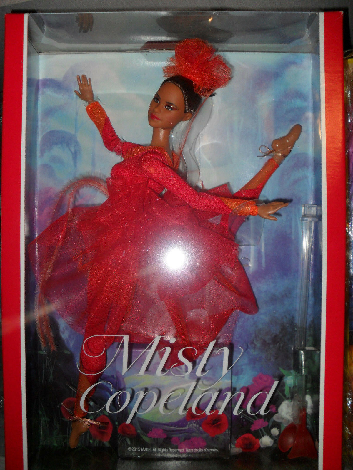 Muñeca Barbie Misty Copeland Mattel nueva Collector