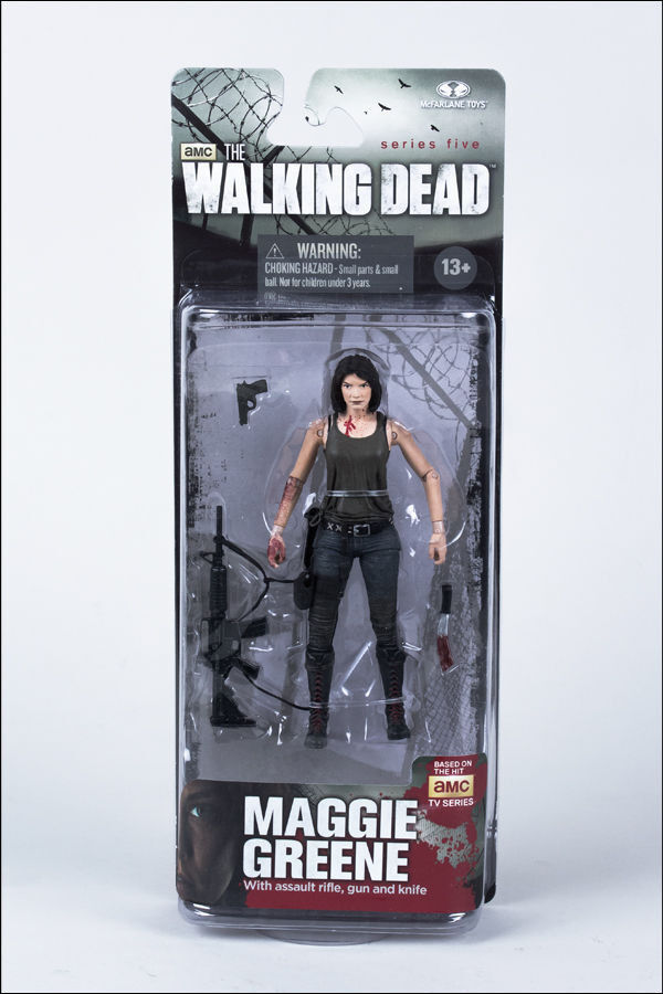 McFarlane Toys Walking Dead TV 5 Maggie Grüne Action Figure
