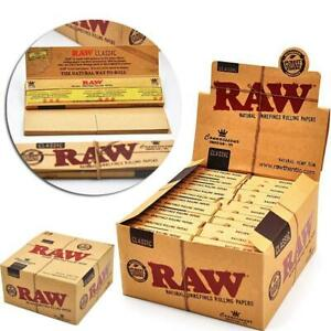 RAW-Rolling-Papers-King-Size-Slim-Classic-Natural-Unrefined-32-leaves