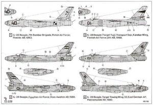 Hi Decal 1/72 Ilyushin Il-28 Beagle #72039