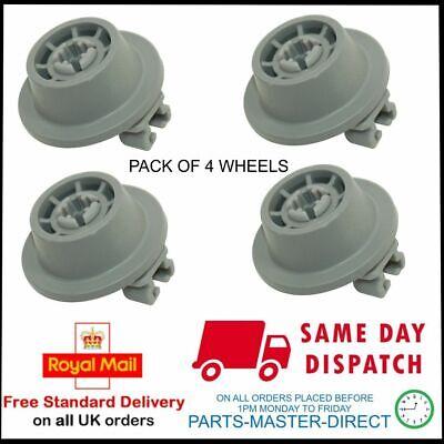 Zanussi Electrolux Compatible Lave-vaisselle Lower Bottom Wheels X 8