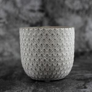 Round-Vase-Silicone-Mold-Concrete-Flowerpot-Mould-Handmade-Craft-Cement-Planter