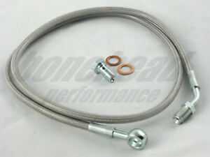 Master to Slave Cylinder Complete Stainless Clutch Line 2003-2006 Mitsubishi EVO
