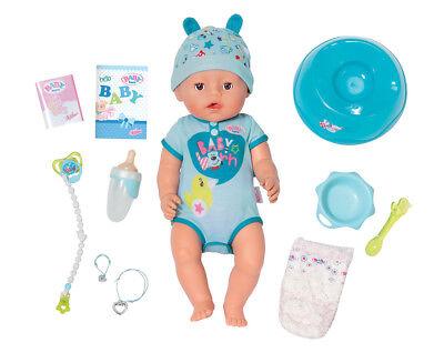 Zapf Creation Baby Born Soft Touch Boy 43cm Drink Wet