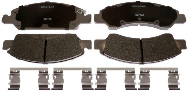 Disc Brake Pad Set-Ceramic Disc Brake Pad Front ACDelco Advantage 14D1363CH