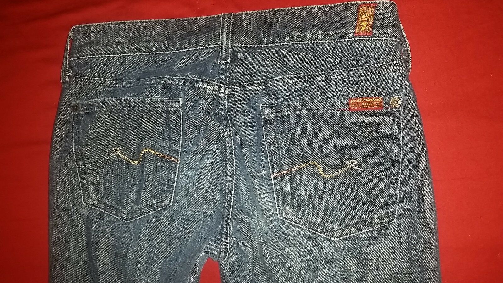 7 For All Mankind Bootcut Women's Jeans size 26, inseam 32