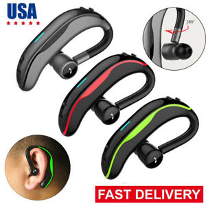 Handsfree Bluetooth Headset Wireless Earphone For Iphone 9 X 8 7 Plus Samsung Lg Ebay