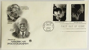 100-USPS-PCS-American-Photography-2002-37c-Stamp-FDC-3649-First-Day-Issue-NEW
