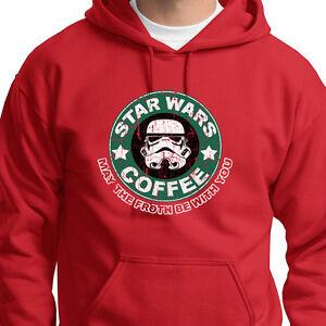 1c32ce9e star wars coffee t-shirt funny starbucks humor hoodie sweatshirt | ebay