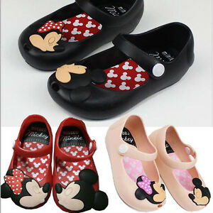 Toddler Kids Girls Summer Cute Animals Floral Sandals Jelly Party Shoes Gifts