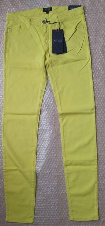 Armani Jeans J06 damen lime low rise jeans Größe 28 - Stretch & Comfort Fabric