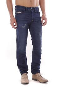Diesel-Buster-0665T-Herren-Jeans-Hose-Slim-Tapered